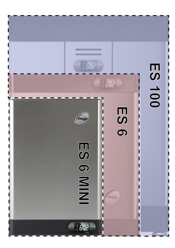 Generatore Vapore Per Bagno Turco 6 Kg H Vapore 400 V